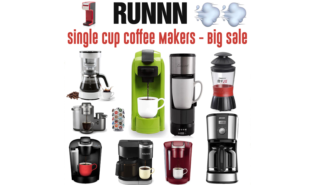 Single Cup Coffee Makers for Less on Wayfair - Big Sale