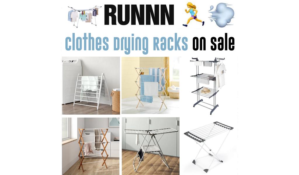 Clothes Drying Racks for Less on Wayfair - Big Sale