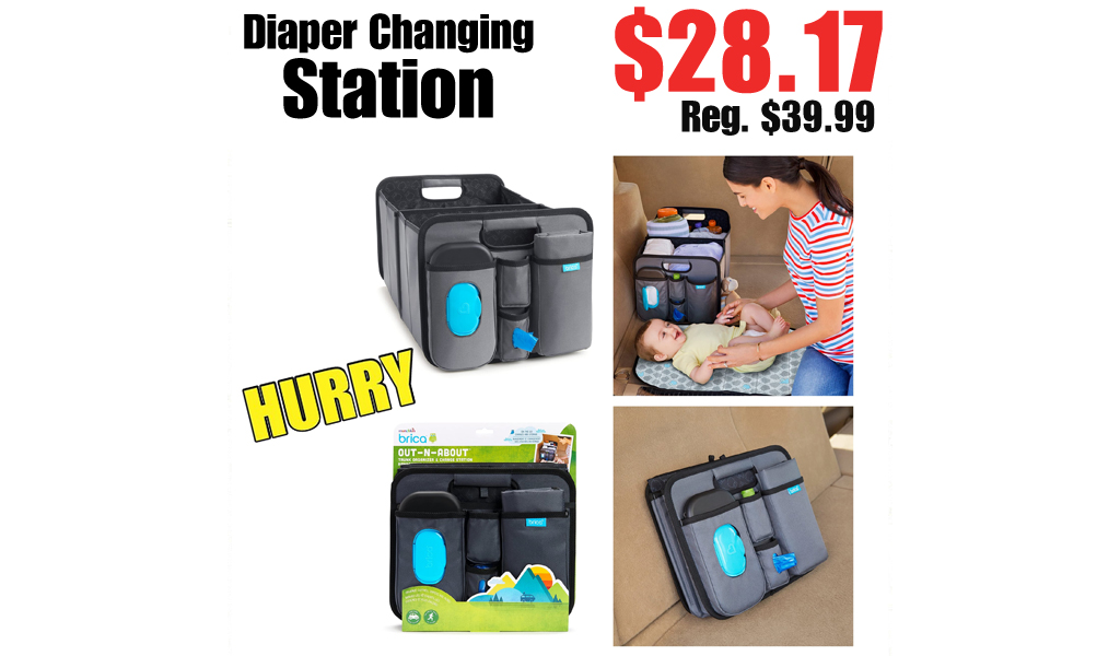 Diaper Changing Station Only $28.17 on Amazon (Regularly $39.99)