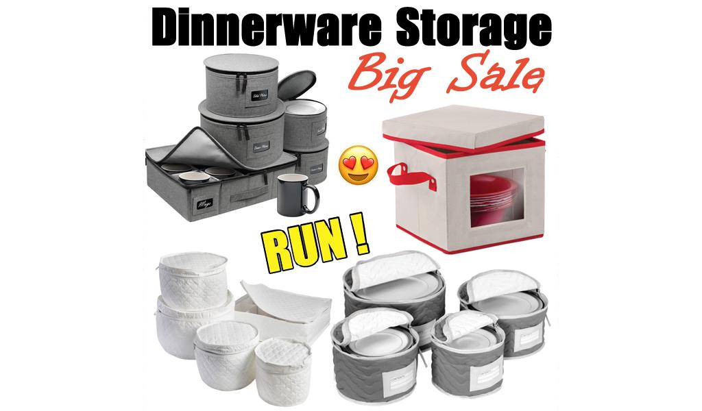 Dinnerware Storage for Less on Wayfair - Big Sale