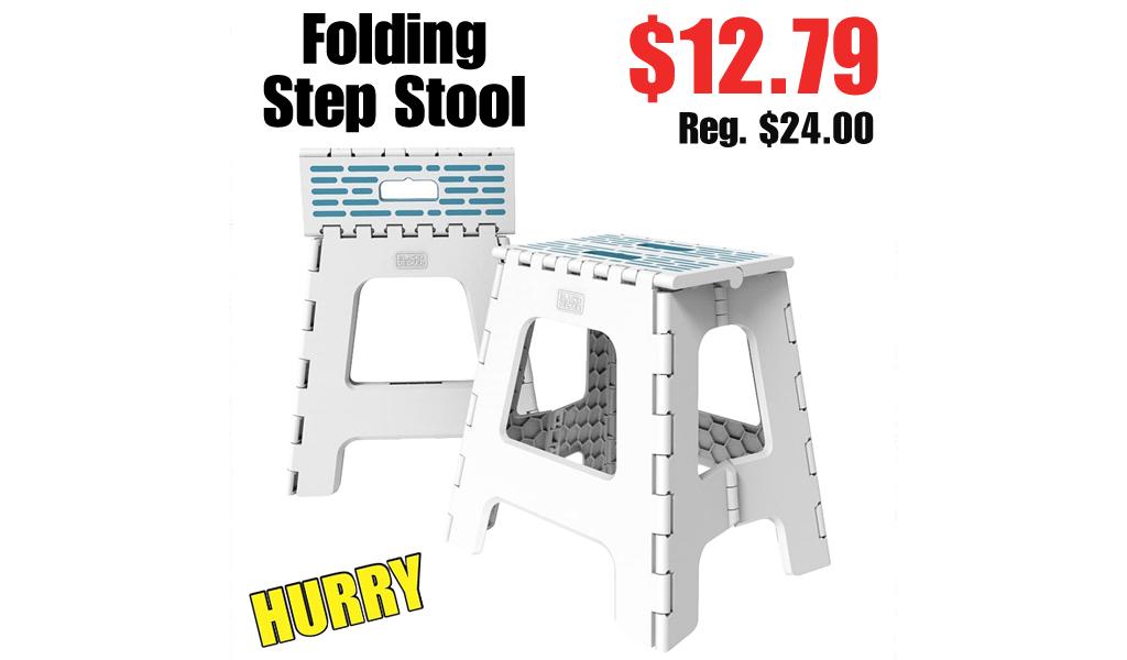 Folding Step Stool Only $12.79 Shipped on Zulily (Regularly $24.00)