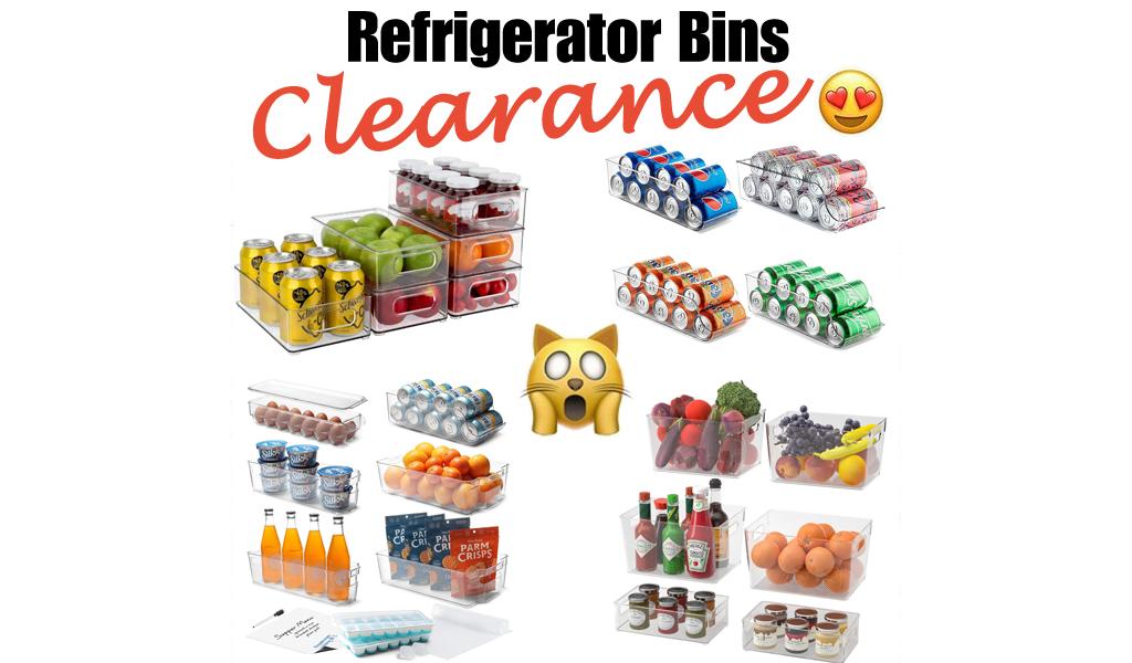 Refrigerator Bins for Less on Wayfair - Big Sale