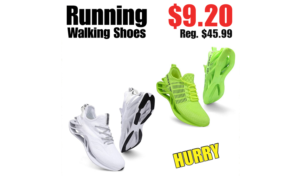 Running Walking Shoes Only $9.20 on Amazon (Regularly $45.99)