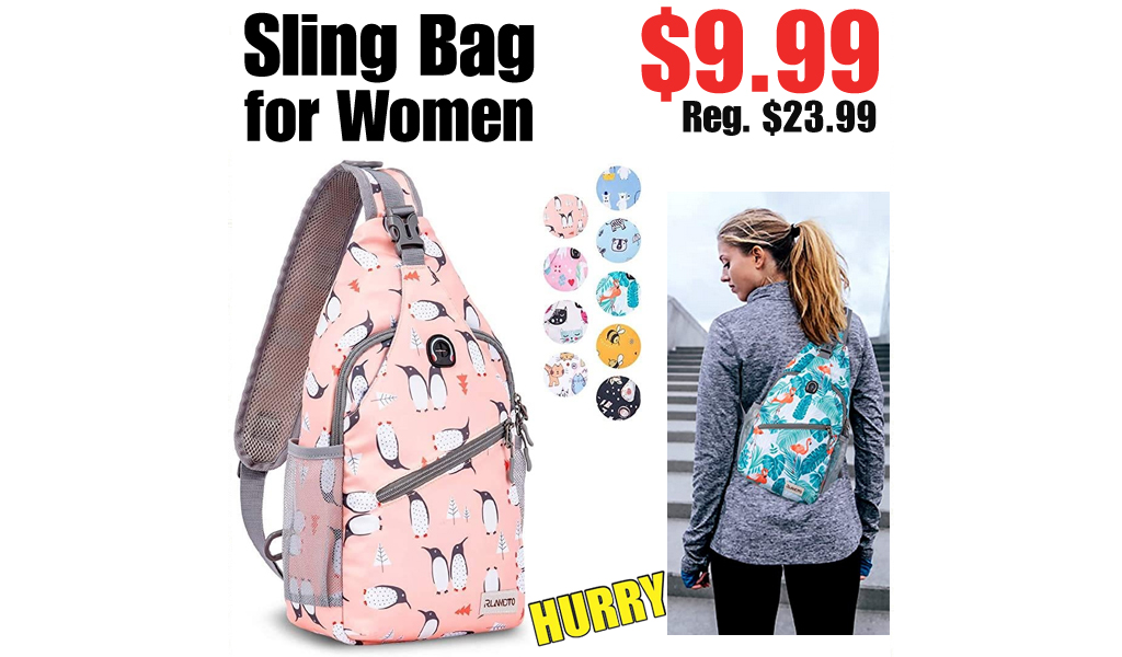 Sling Bag for Women Only $9.99 on Amazon (Regularly $23.99)