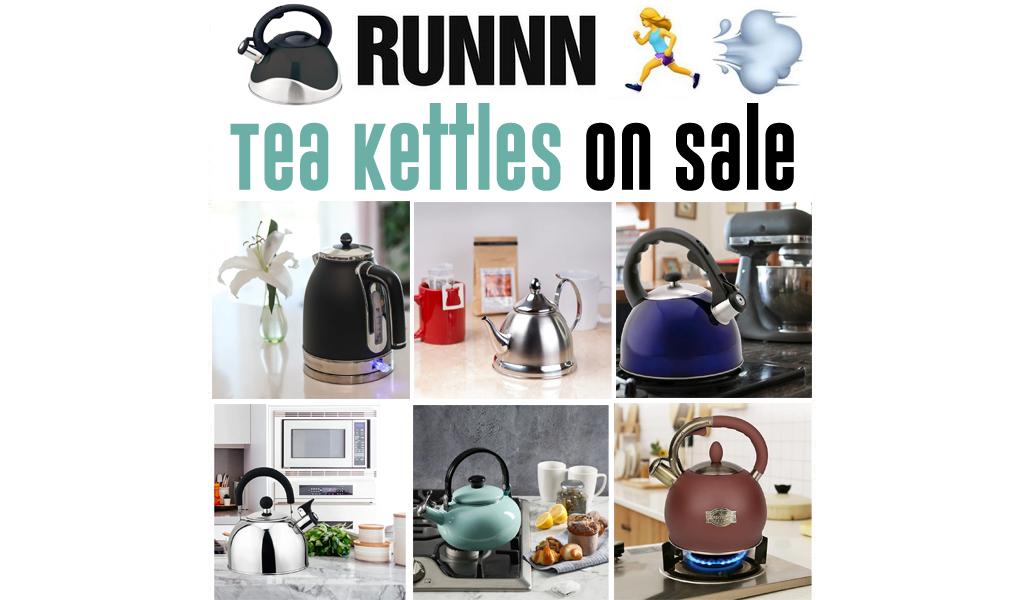 Tea Kettles for Less on Wayfair - Big Sale