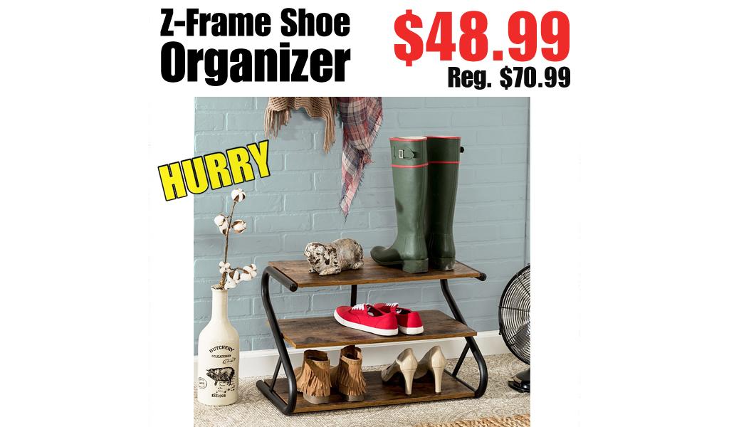 Z-Frame Shoe Organizer Only $48.99 Shipped on Zulily (Regularly $70.99)